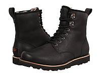 Ботинки/Сапоги (Оригинал) UGG Hannen TL Black Leather, фото 1