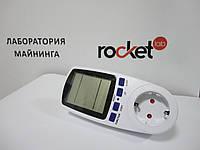 Ваттметр, Энергометр, Вольтметр, счетчик энергии Intertek (LM669)