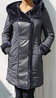 Женское стильное пальто зимнее Clara Feia