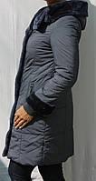 Женское стильное пальто зимнее утеплитель тинсулейт