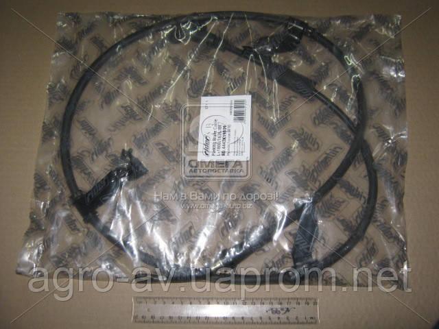 Трос ручного тормоза (RD.4442K19809) HYUNDAI TUCSON 04-10 прав., L=1800/1635 (RIDER)