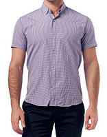 Мужская рубашка TOBETO клетка