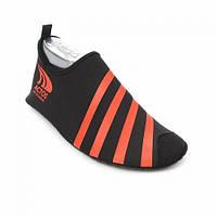 Обувь для спорта, йоги, плавания, аквашузы (красные полосы)
