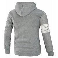 Мода досуг молнии длинные рукава мужская пальто 2XL