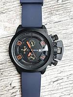 Мужские наручные синие часы Megir