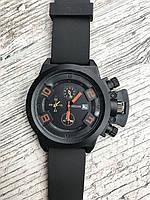Мужские наручные черные часы Megir