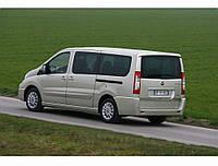 Блок левый (окно с форточкой) на Fiat Scudo, Peugeot Expert, Citroen Jumpy 07- (Скудо, Эксперт, Джампи 07-)