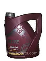 Масло моторное Mannol ELITE 4L SAE 5W-40 API SL/CF синтетическое