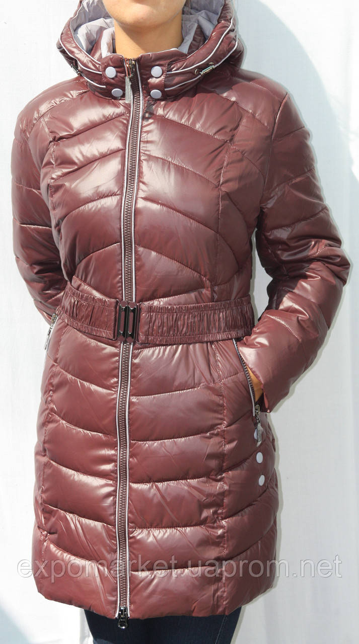 Женские куртки-полупальто Dengermeng осень-зима