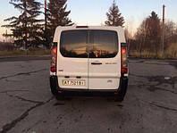 Распашонка левая с э. о. и отверстием на Fiat Scudo, Peugeot Expert, Citroen Jumpy 07- (Скудо, Эксперт, Джампи