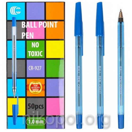 """Ручка шариковая """"С"""" CR927 синяя"""