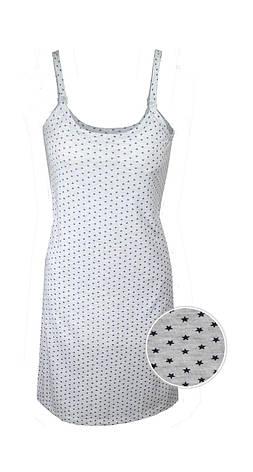 """Ночная рубашка на клипсе  для кормящих """"Звезды"""", фото 2"""