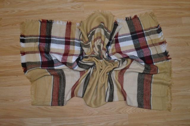 Платок шарф плед Бриджит Фото 1