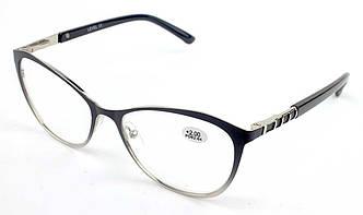 Черные женские очки с диоптриями Level