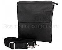 Классическая мужская сумка из натуральной кожи 24х20х5см.