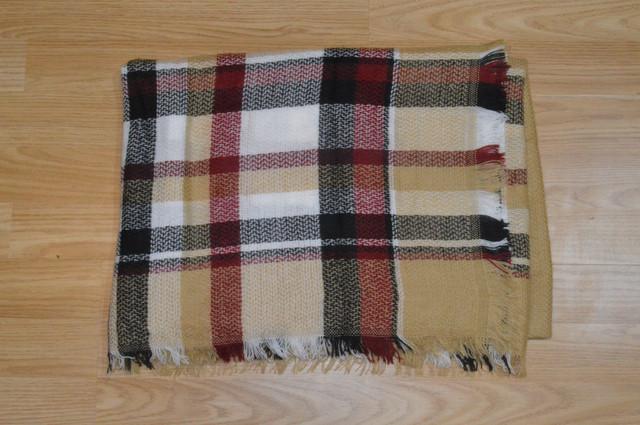 Платок шарф плед Бриджит Фото 2