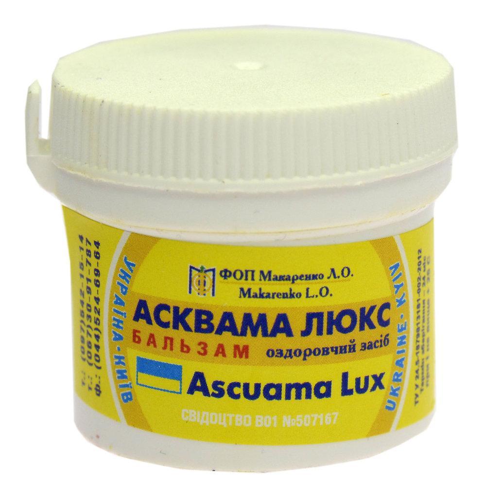 Асквама люкс бальзам ( от псориаза) 30 гр