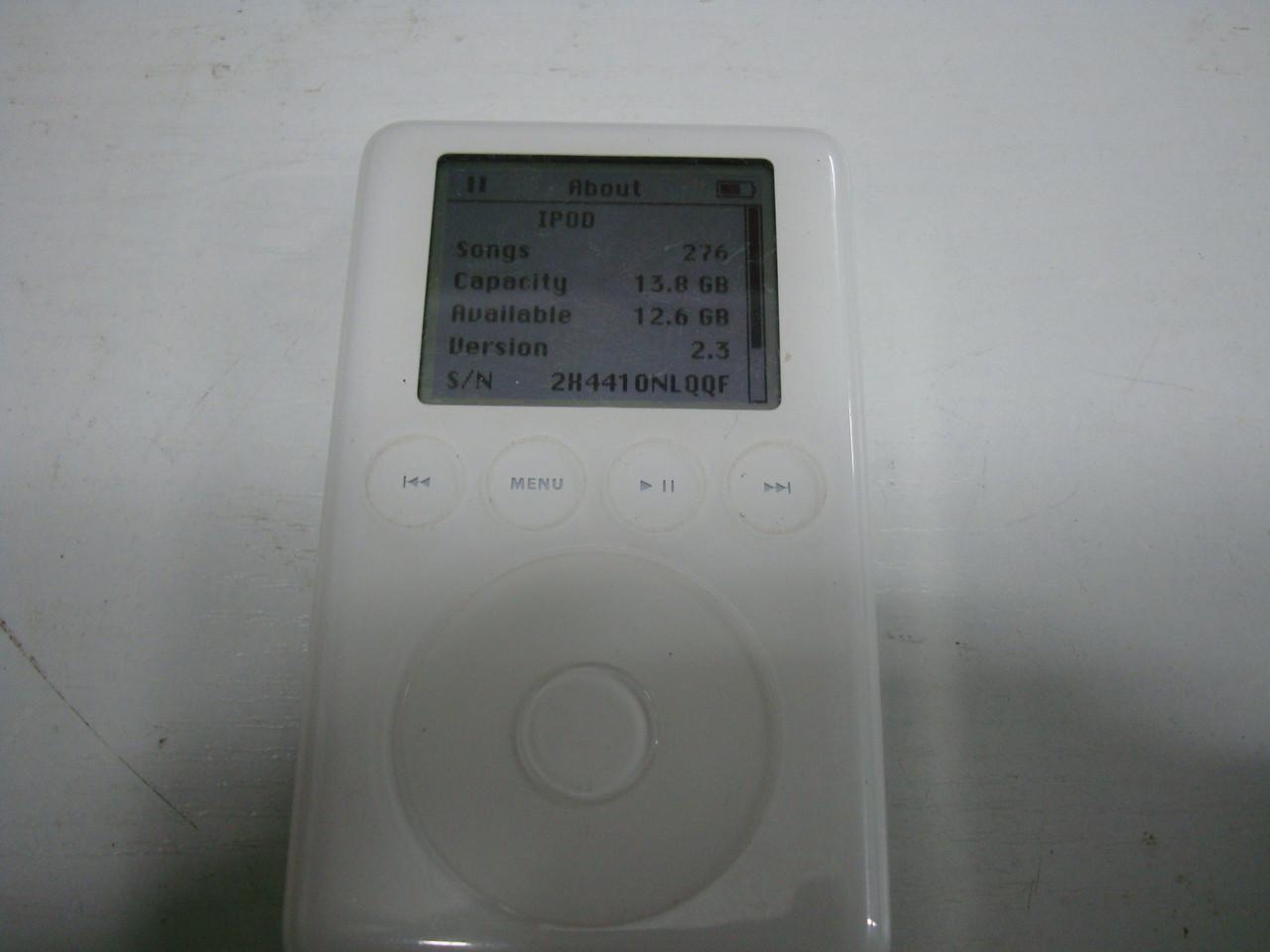 Рідкісний Mp3-плеєр Apple iPod 3rd generation 15 Gb