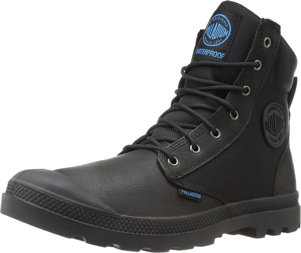 Ботинки Сапоги (Оригинал) Palladium Pampa Sport Cuff WPN Black ... 0df64cbedfb43