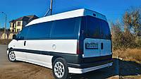 Передний салон, левое окно длинная база на Fiat Scudo, Peugeot Expert, Citroen Jumpy 96- (Скудо, Эксперт, Джам