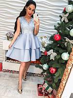 Эффектное оригинальное платье, разные цвета, фото 1