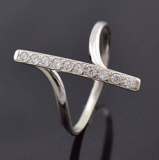 """Серебряное кольцо """"Верона"""", размер 18, вес серебра 2.15 г"""