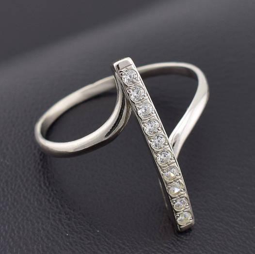 """Серебряное кольцо """"Верона"""", размер 22, вес серебра 2.15 г"""