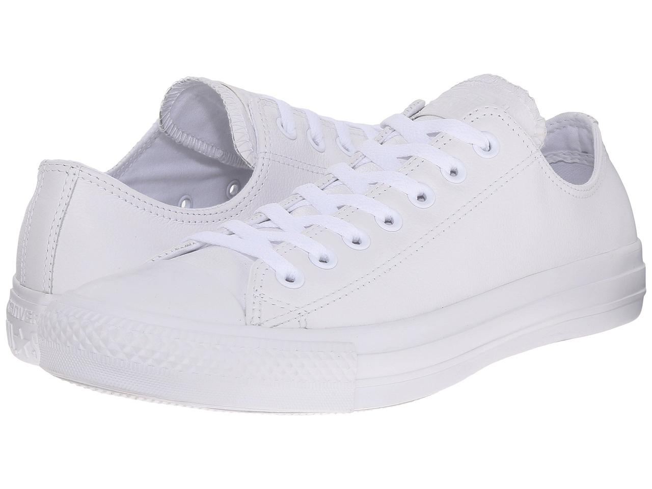 31e6e07bc657 Кроссовки Кеды (Оригинал) Converse Chuck Taylor® All Star® Leather Ox White