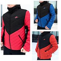 Зимняя мужская куртка   Теплая зимняя куртка на пуху