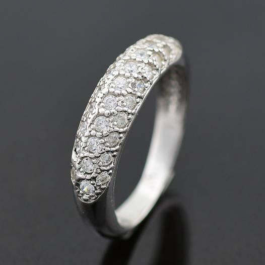 """Серебряное кольцо """"Узкий шик"""", размер 17, вес серебра 2.42 г"""