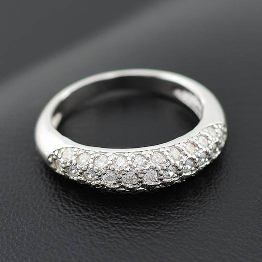"""Серебряное кольцо """"Узкий шик"""", размер 19, вес серебра 2.42 г"""
