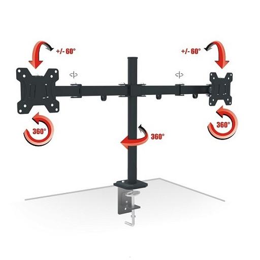 Кронштейн AX PIXEL TWIN 13'' - 27''  - настольное крепление для ТВ, LCD телевизора, монитора.