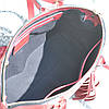 Женская кожаная сумка Bordo красная, фото 6