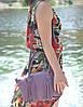 Женская кожаная сумка BORDO лиловая, фото 5