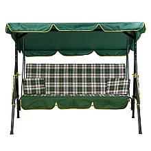 Качели «Дача», зеленая