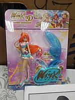 Кукла Winx 3D с блестящими крыльями