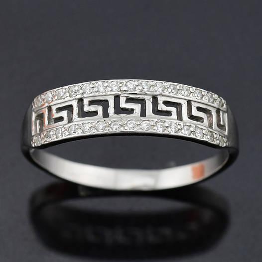 """Серебряное кольцо """"Возрождение №2"""", размер 20, вес серебра 1.62 г"""