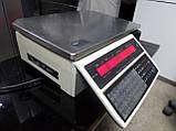 Ваги Digi SM-100 б/в, Ваги з чекодруком Digi SM100 б/в, ваги б, чекодрукуючі ваги б., фото 4
