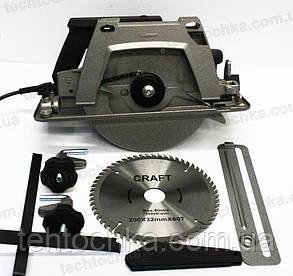 Циркулярка CRAFT CCS - 2200, фото 2