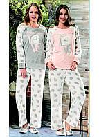 Домашняя одежда Dika Пижама женская 4554 персиковый S