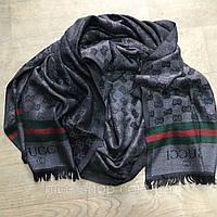 Палантин Gucci темно-серый, фото 1