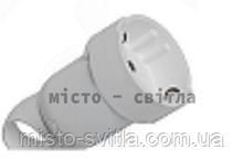 Розетка 2К+З с подвижным кольцом 16А белый 50191 Legrand Легранд