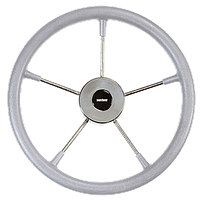 Штурвал Vetus KS36G полиуретановый серый