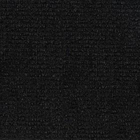 Ковролин автомобильный мягкий, тягучий, без основы, (черный)