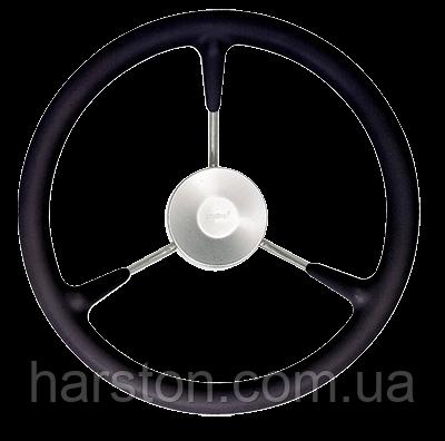 Штурвал Vetus KS32Z полиуретановый чёрный