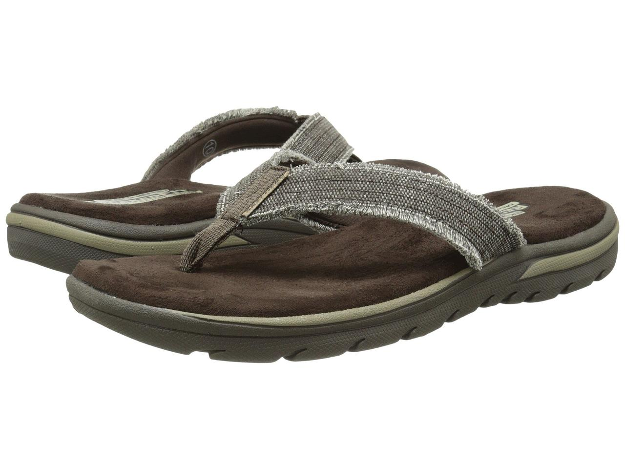 Сандали Вьетнамки (Оригинал) SKECHERS Relaxed Fit 360 Supreme - Bosnia  Chocolate 78f7b334485