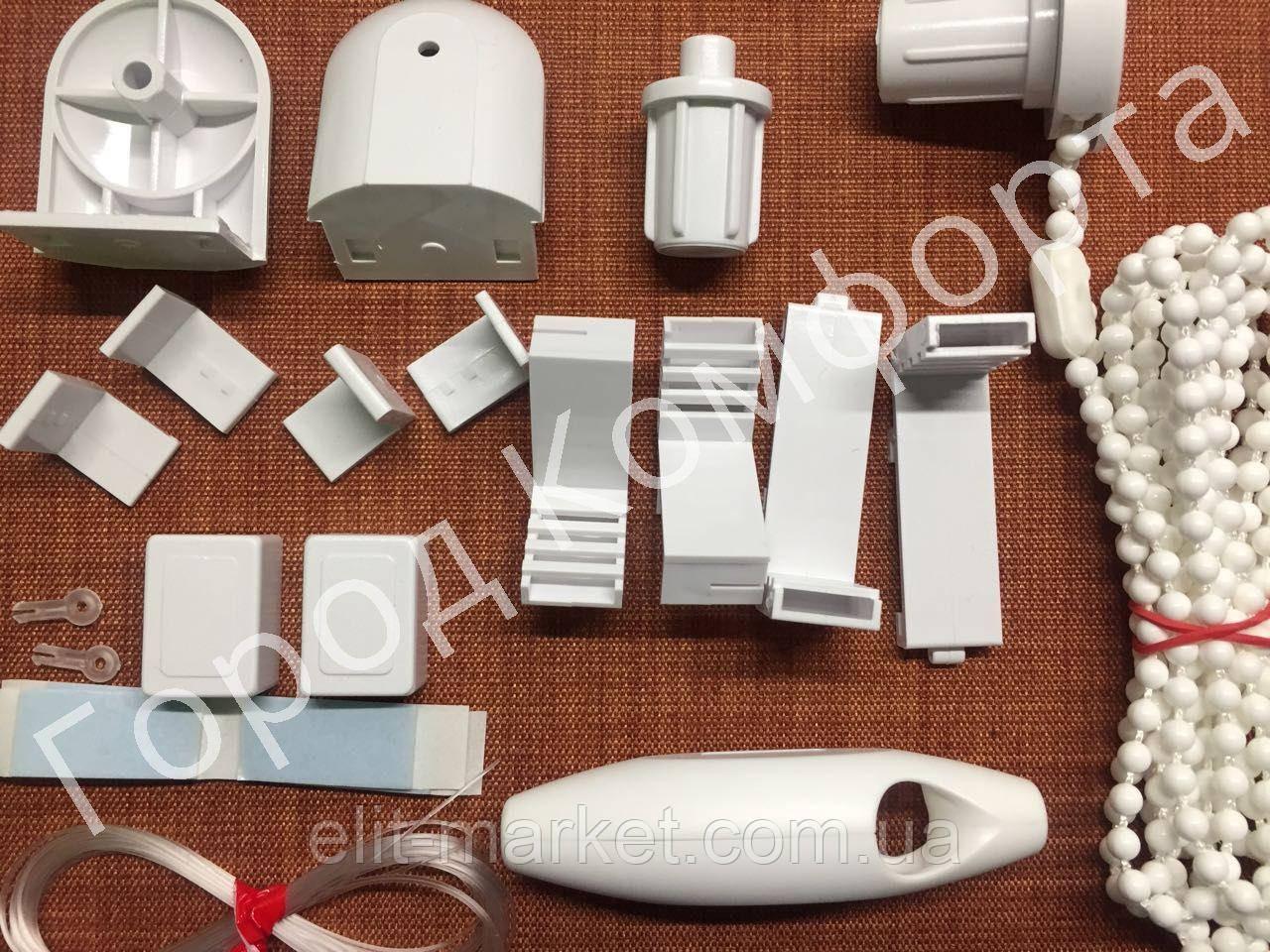 Рулонные шторы механизм Т-мини белый