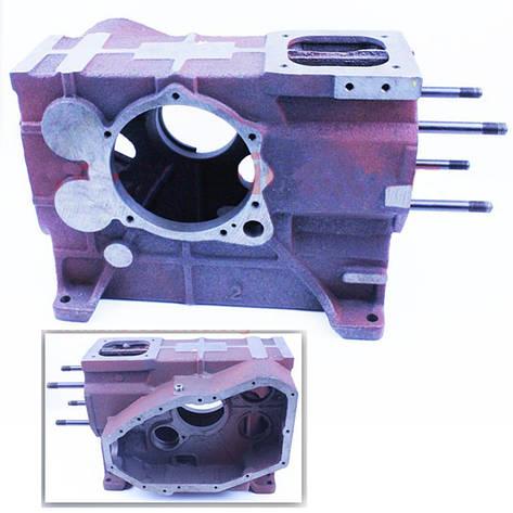 Блок двигателя длинный, гильза и шпильки 4 шт (R180NM), фото 2