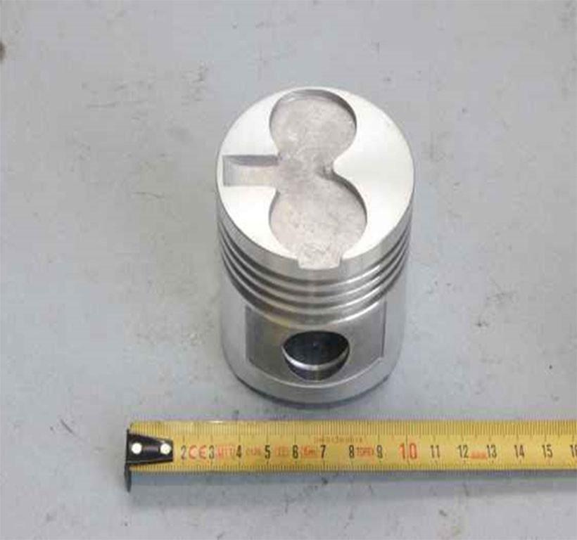 Поршень нового образца Zirka SH-41 (R170 дизельный)