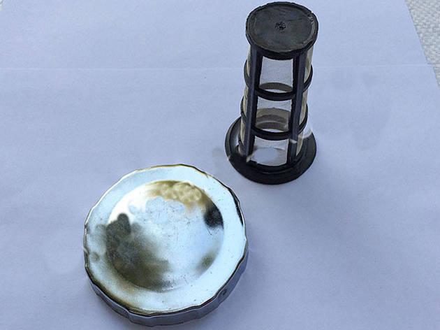 Крышка бака и сетка под потайную горловину (R190), фото 2